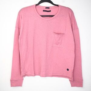 NWT Abercrombie & Fitch Long Sleeve Pocket Tee